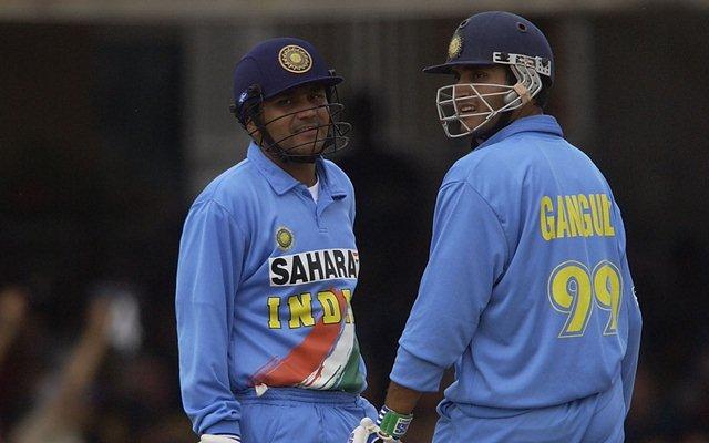 Sourav Ganguly & Virender Sehwag