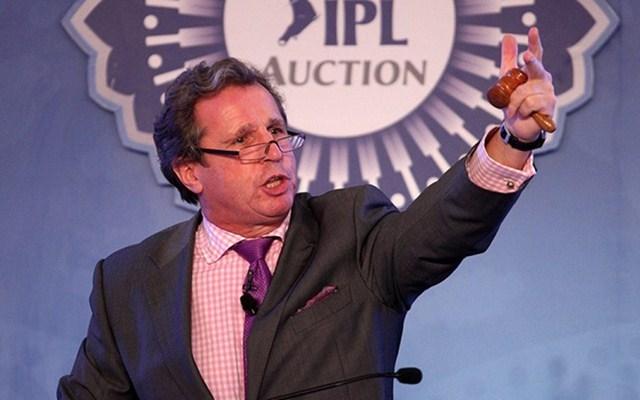 IPL auctioneer