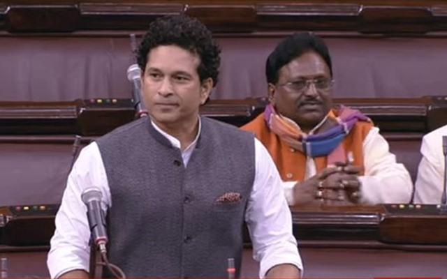 Sachin Tendulkar Rajya Sabha