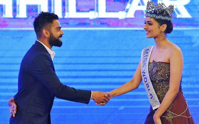 Virat Kohli & Manushi Chillar