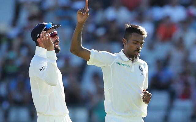 Hardik Pandya wicket