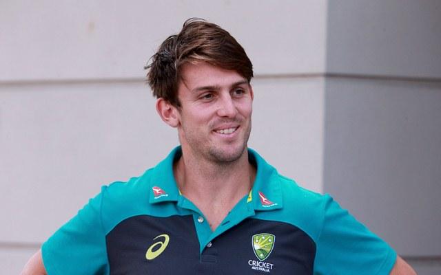 Australian cricketer Mitchell Marsh