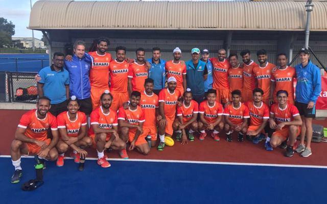Rahul Dravid wished the Men's hockey