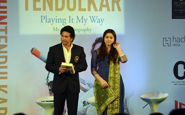 Sachin Tendulkar & Sara Tendulkar