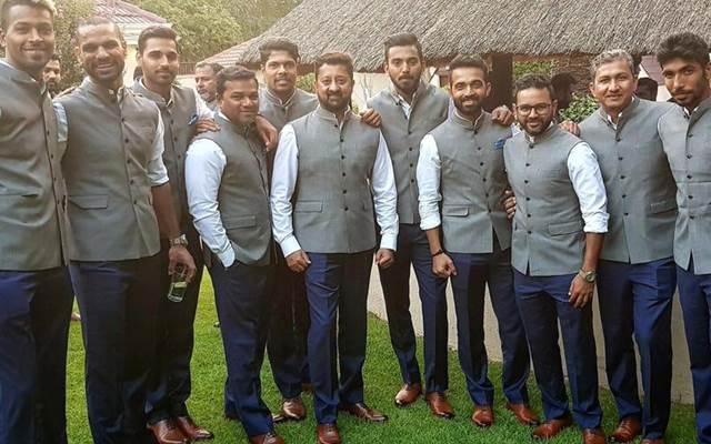 TeamIndia visit India House at Johannesburg