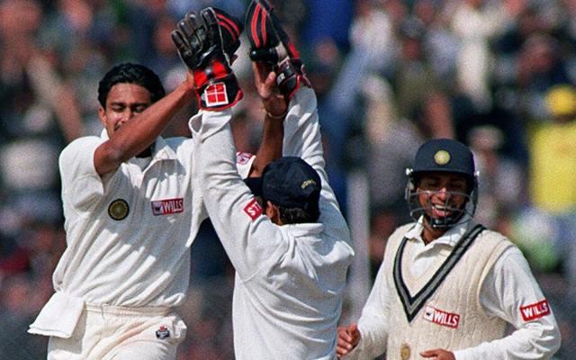 Anil Kumble 10 wickets haul