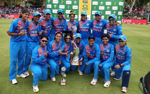 Indian Women's team. (Photo Source: Twitter)