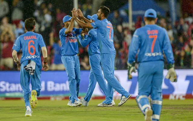 Team India. (Photo by Sydney Seshibedi/Gallo Images/Getty Images)