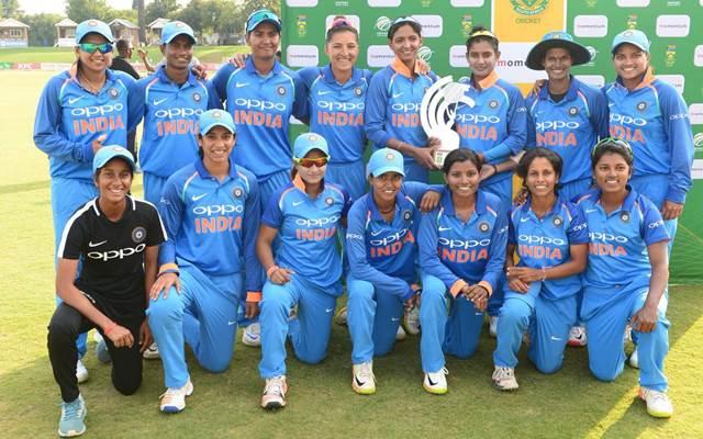Indian women team won the series