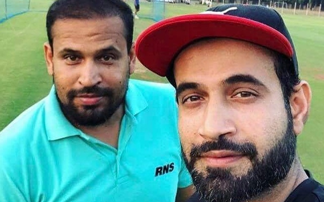Irfan Pathan and Yusuf Pathan (Photo Source: Twitter)
