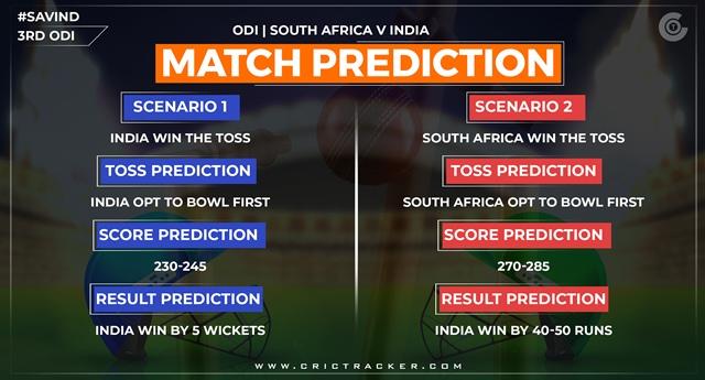 SAvIND-3rd-ODI-Prediction