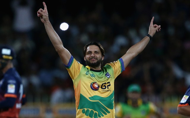 Shahid Afridi. (Photo by Francois Nel/Getty Images)