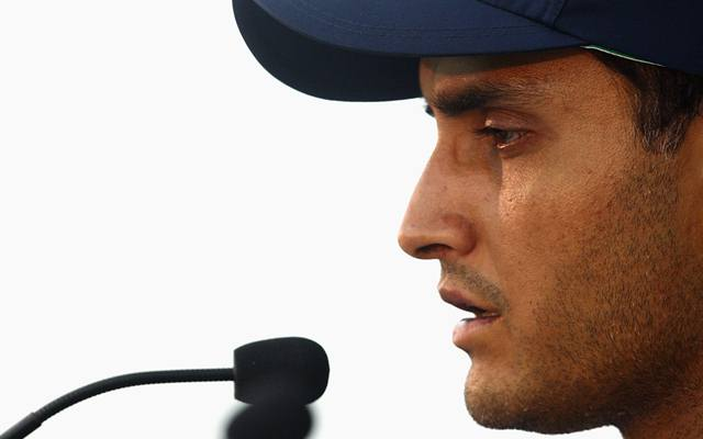 Sourav Ganguly. (Photo by Mark Dadswell/Getty Images)