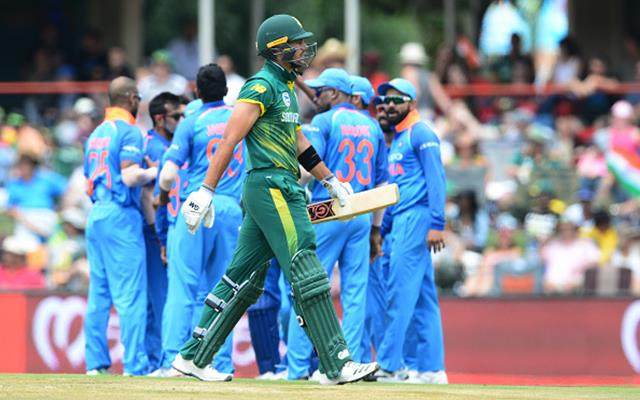 2nd Momentum ODI: South Africa v India