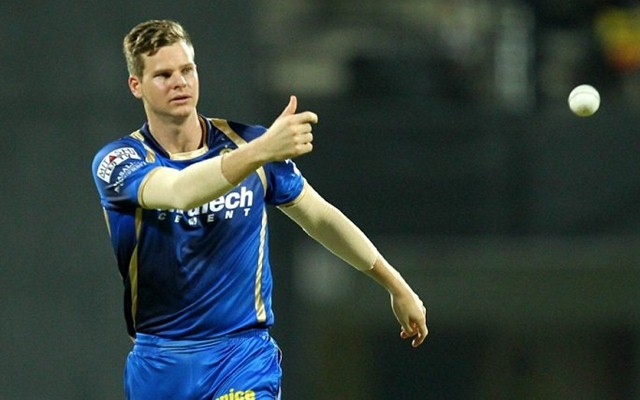 Steve Smith of Rajasthan Royals. (Photo Source: Twitter)