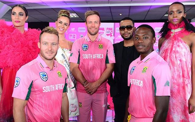 South Africa to don pink jersey in 4th ODI