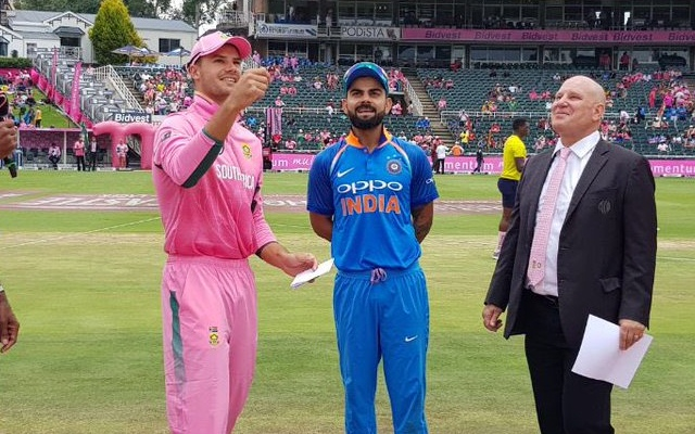 south africa vs india pink odi (Photo Source: Twitter)