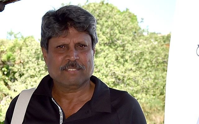 Kapil Dev. (Photo by Tullio M. Puglia/Getty Images for Professional Sports Group )