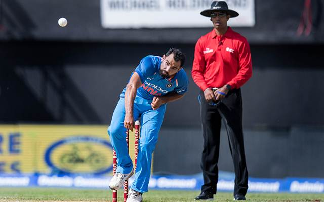 Mohammed Shami (Photo by JIM WATSON/AFP/Getty Images)