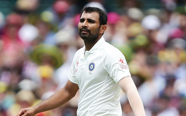 Mohammed Shami. (Photo by Matt King/Getty Images)