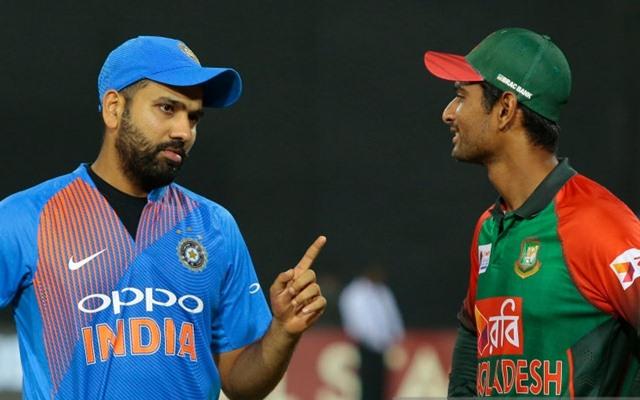 Rohit Sharma & Mahmudullah Riyad