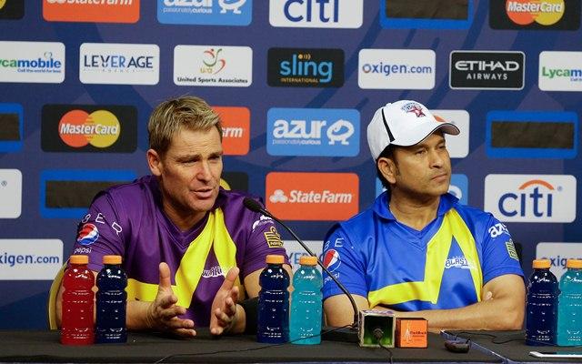 Sachin Tendulkar & Shane Warne
