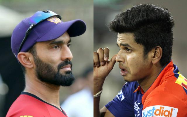 Dinesh Karthik & Shreyas Iyer