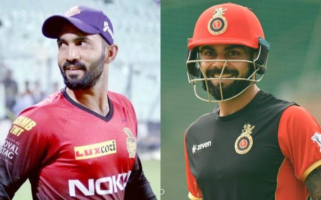 Dinesh Karthik & Virat Kohli