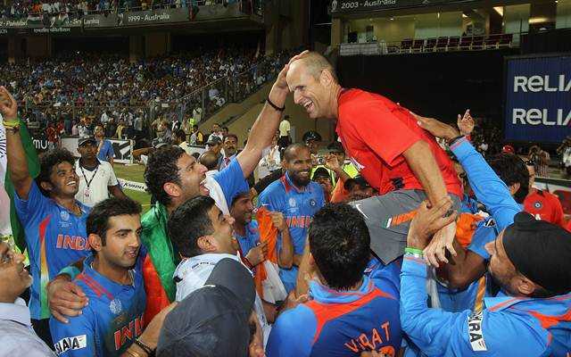 Gary Kirsten. (Photo by Hamish Blair/Getty Images)