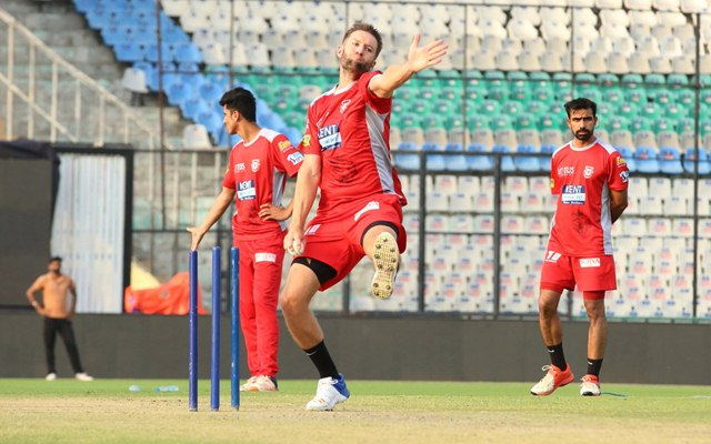 KXIP practice session. (Photo Source: Twitter)