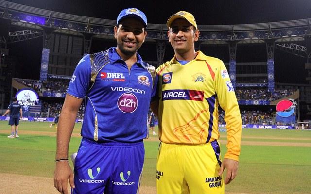 MS Dhoni & Rohit Sharma