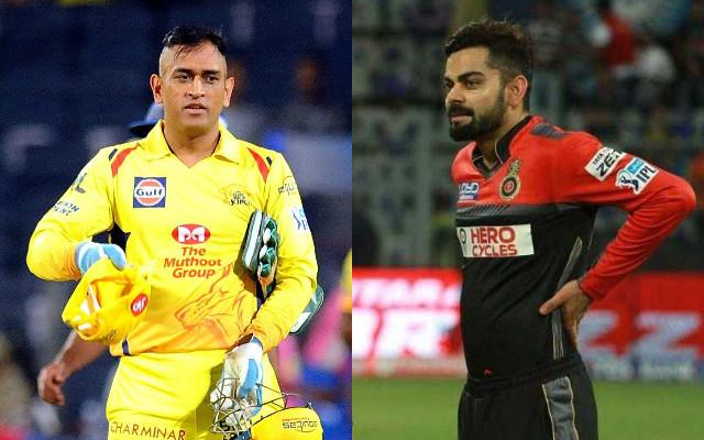 MS Dhoni & Virat Kohli