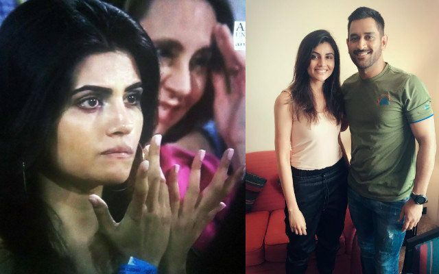 The Mystery girl has been going viral during this IPL season. (Photo Source: Twitter)