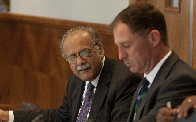 Najam Sethi. (Photo by Charlie Crowhurst/Getty Images)