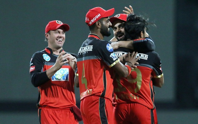 Royal Challengers Bangalore team. (Photo Source: Twitter)