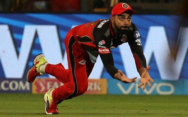 Virat Kohli takes a catch. (Photo Source: Twitter)