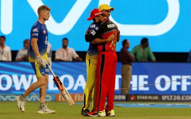 Virat Kohli & MS Dhoni. (Photo Source: Twitter)