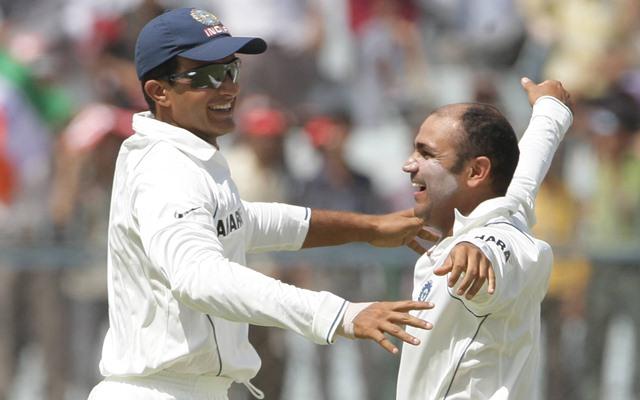 Virender Sehwag & Sourav Ganguly