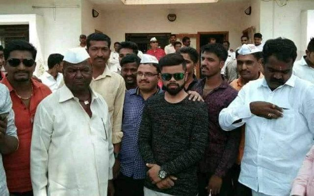 Gram Panchayat candidate promised Virat Kohli as chief guest; gets his duplicate instead. (Photo Source: Twitter)
