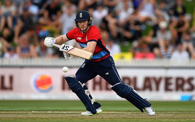 England's Eoin Morgan. (Photo by Stu Forster/Getty Images)