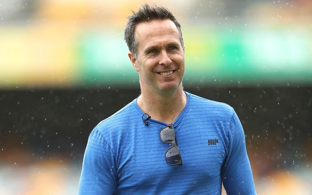 Former England Captain Michael Vaughan. (Photo by Ryan Pierse/Getty Images)