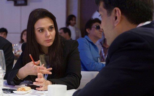Preity Zinta. (Photo by Ritam Banerjee/Getty Images)