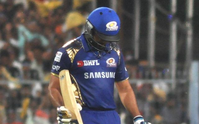 Mumbai Indians captain Rohit Sharma returns back. (Photo by Kuntal Chakrabarty/IANS)
