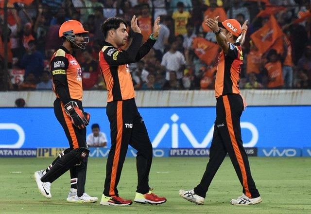 Sunrisers Hyderabad. (Photo by IANS)