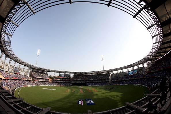 Wankhede stadium, Mumbai. (Photo by Graham Crouch/Getty Images)