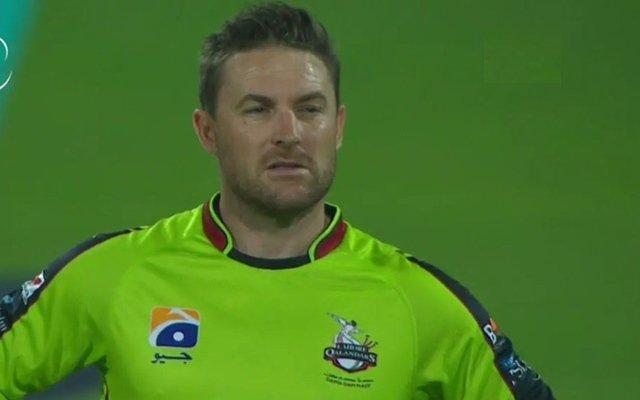 Lahore Qalandars' skipper Brendon McCullum. (Photo Source: Twitter)