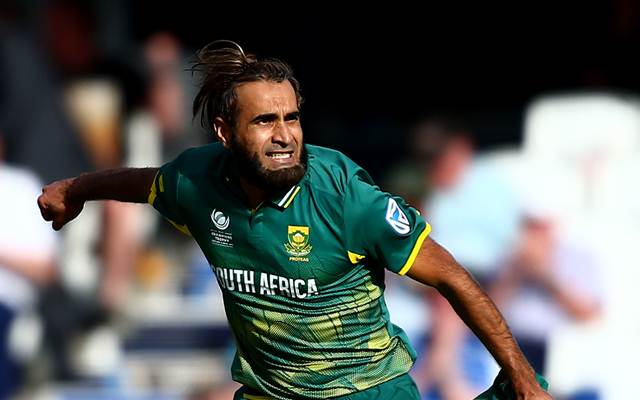 Imran Tahir of South Africa. (Photo by Jordan Mansfield/Getty Images)