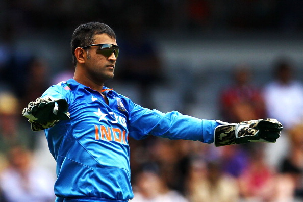 MS Dhoni. (© Getty Images)