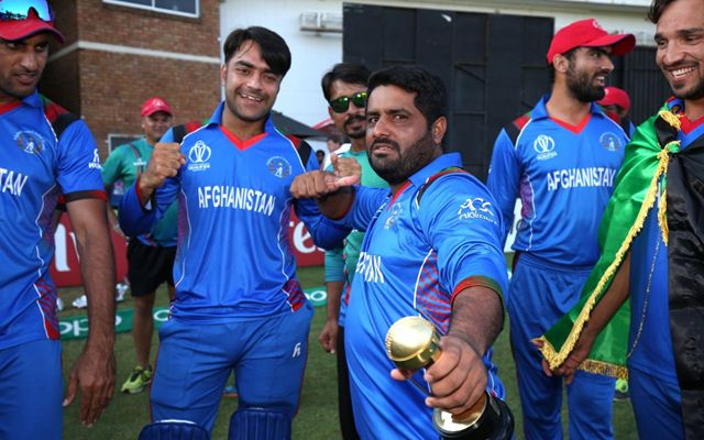 Afghanistan celebrates. (Photo Source: Twitter)