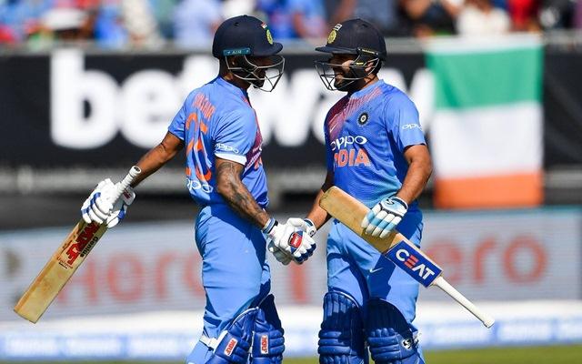 Rohit Sharma & Shikhar Dhawan. (Photo Source: Twitter)